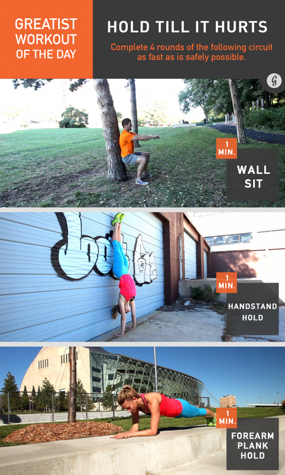 Greatist Workout of the Day: Hold Till It Hurts