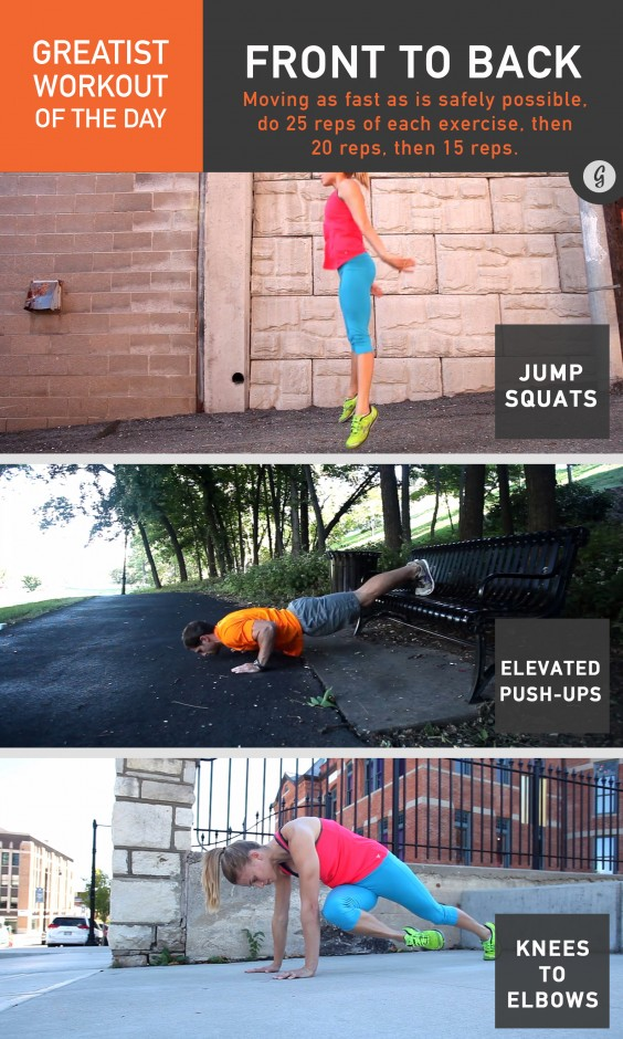 Greatist Workout of the Day:Friday, December 19th