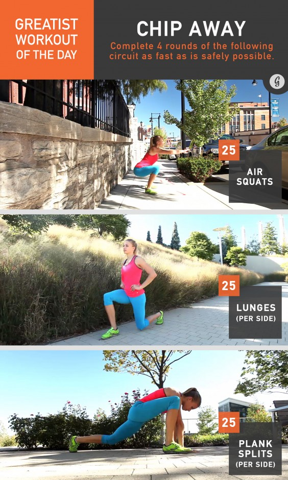 Fast and Effective Bodyweight Workout