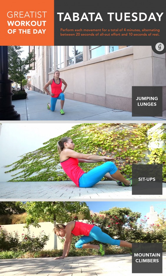 Greatist Workout of the Day: March 24