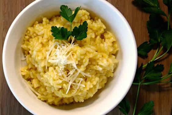 Garlic Risotto