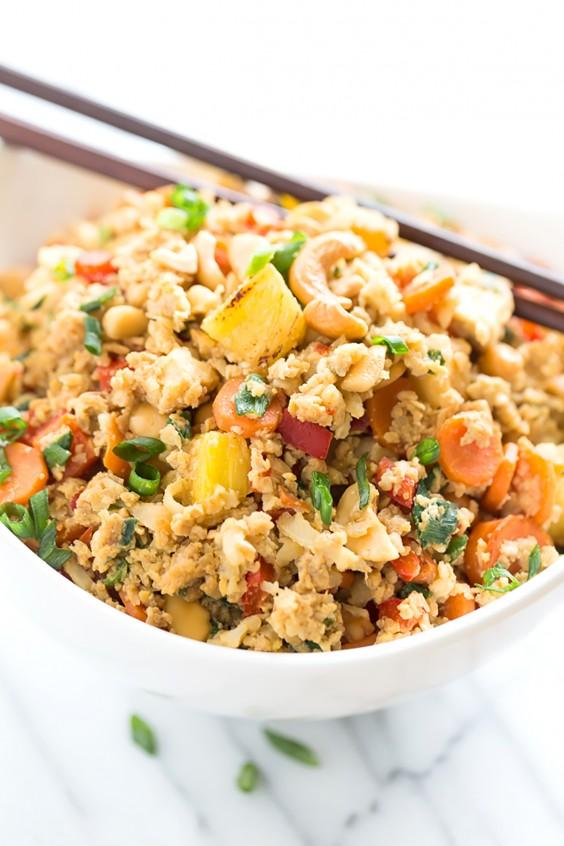 Paleo Dinners: Pineapple Fried Rice