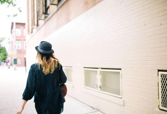 Increase Creativity: Walking Alone on a Street