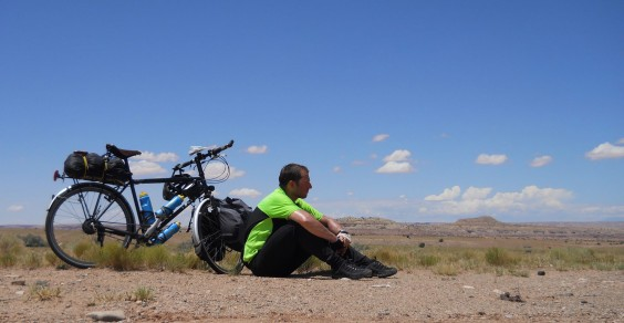 You'll never believe how far this guy biked!