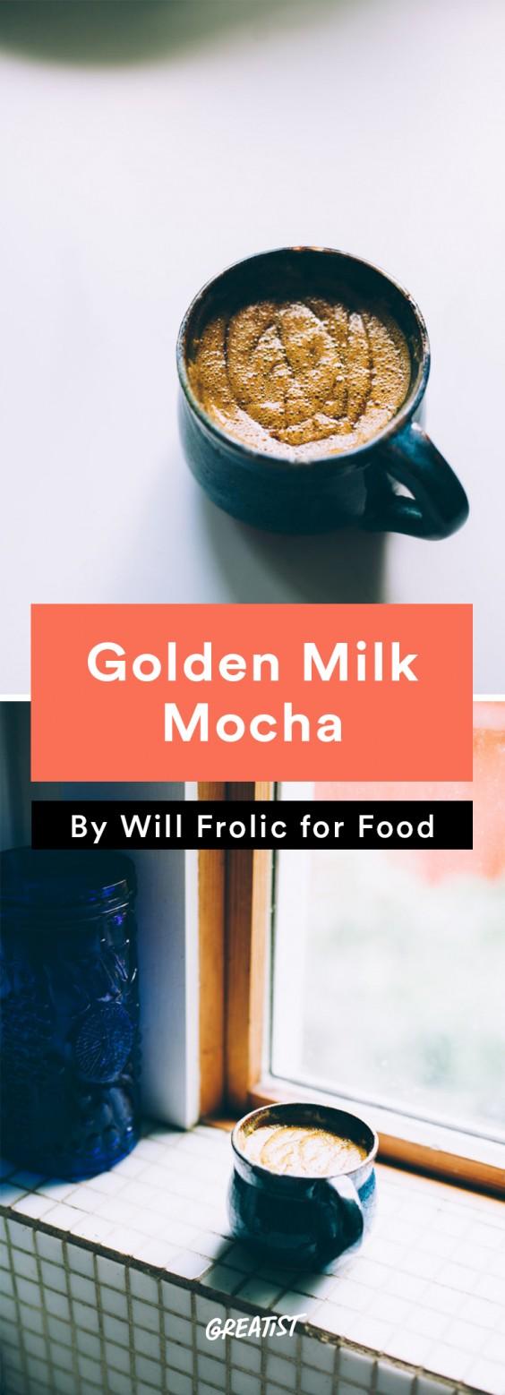 will frolic for food: Golden Milk Mocha
