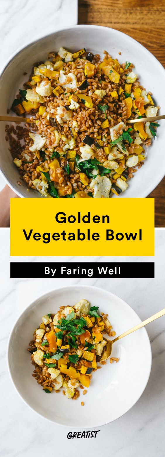 faring well: Golden Vegetable Bowl