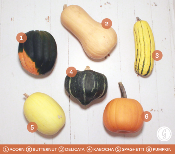 pictures Guide To Fall Produce