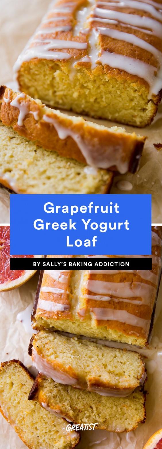 Grapefruit Greek Yogurt Loaf Recipe