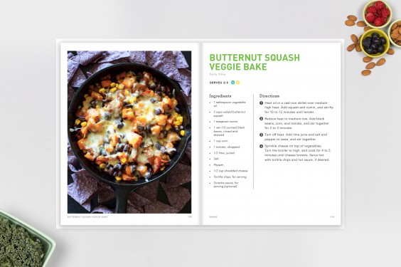 Inside Look at The Greatist Cookbook