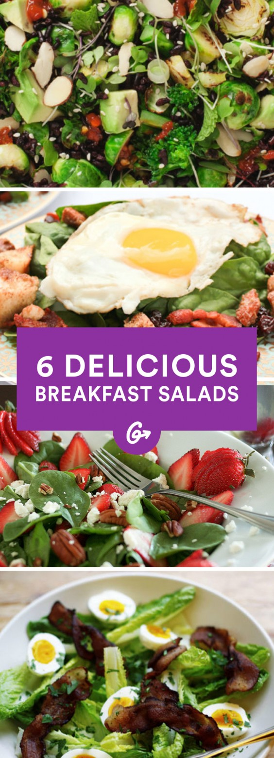 6 Breakfast Salad Recipes