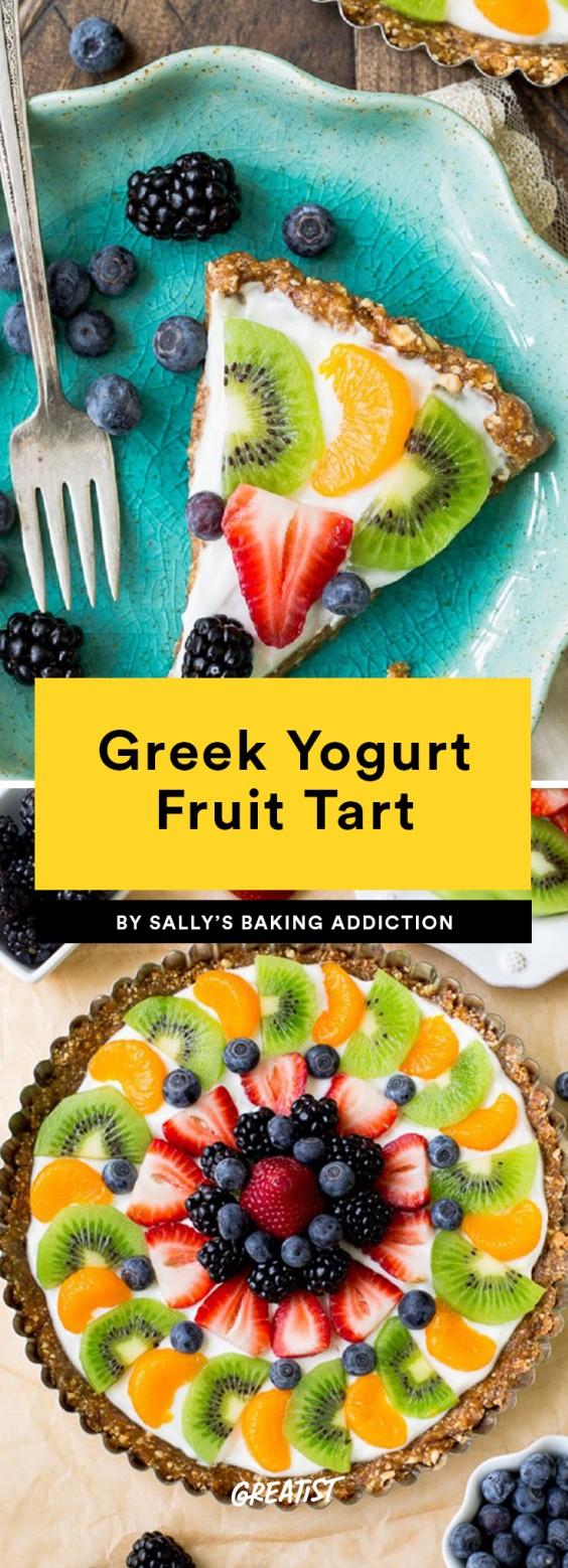 Greek Yogurt Fruit Tart Recipe