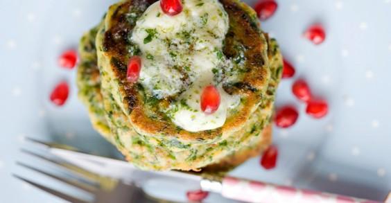 Savory Green Pancakes