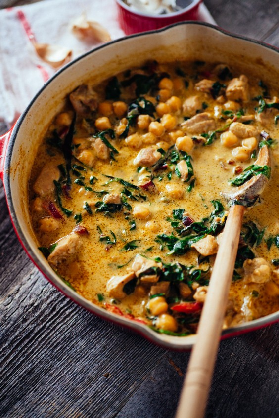 Curries under 10: Chickpea Chicken Curry