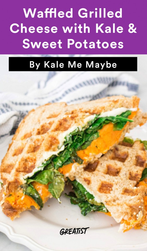 kale grilled cheese banner