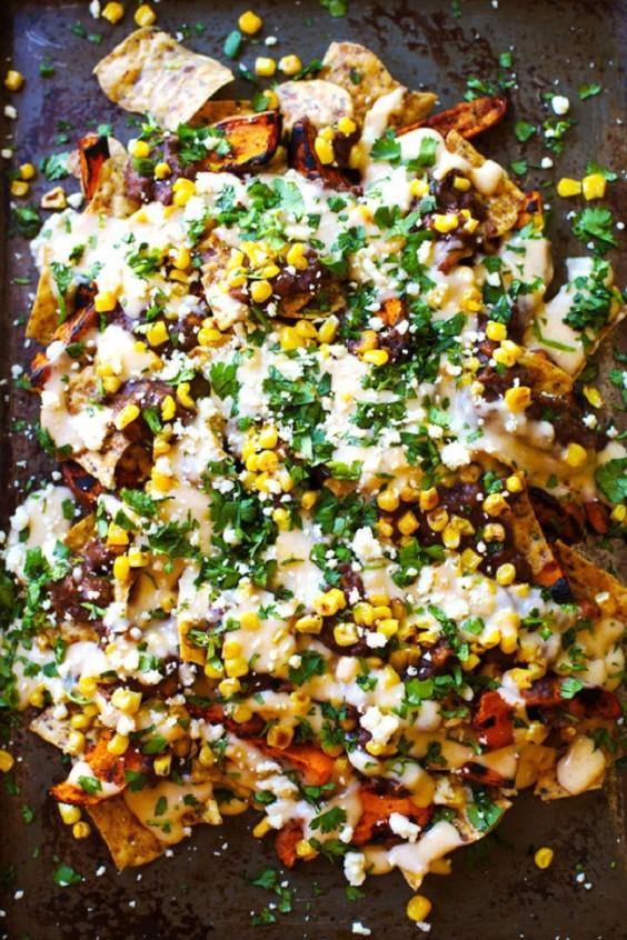 Grilled Sweet Potato Nachos Recipe