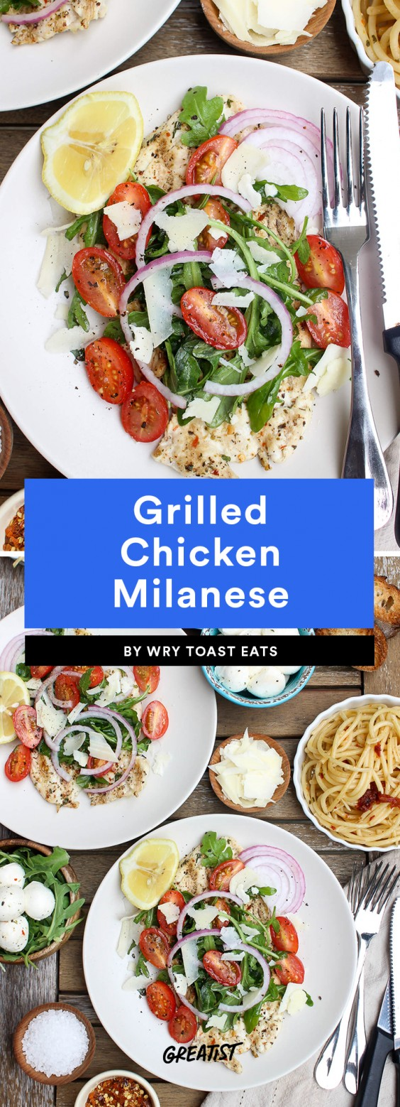 Grilled Chicken Milanese