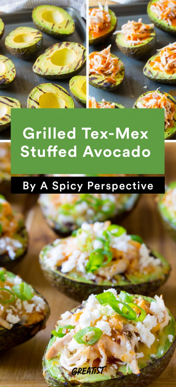 Stuffed Avocados: Tex-Mex