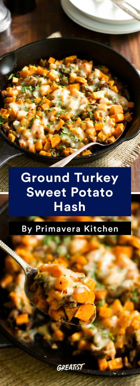 Sweet Potato Hash Recipes: 7 Meals for Breakfast or Dinner | Greatist