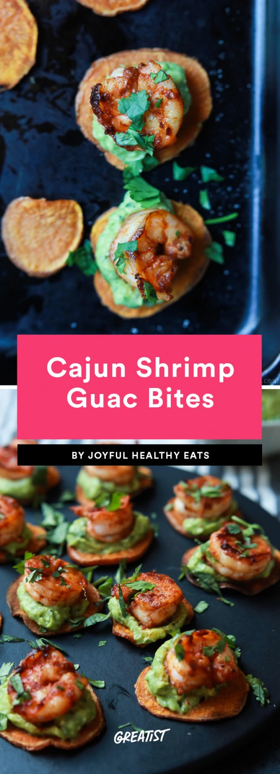 Cajun Shrimp Guac Bites Recipe