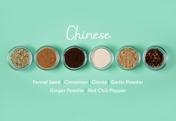 guide to spices: Chinese