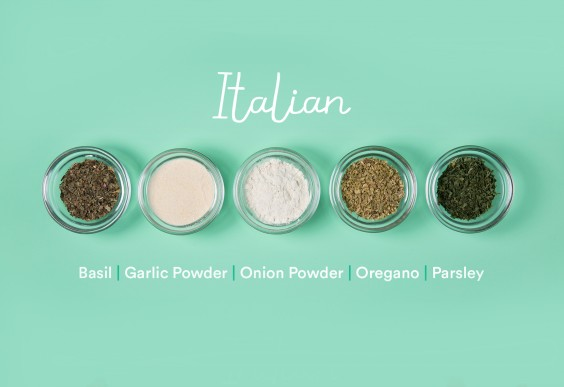 guide to spices: Italian
