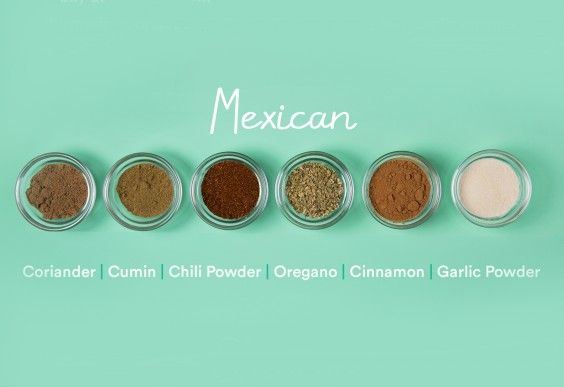 guide to spices: Mexican