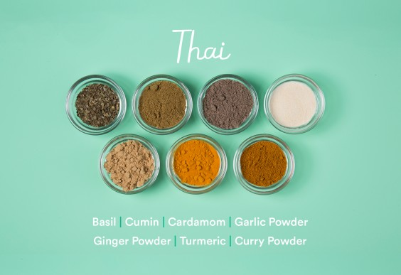 guide to spices: Thai