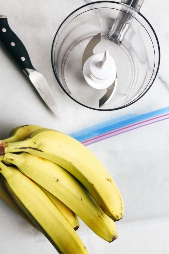 Banana Ice Cream: Ingredients