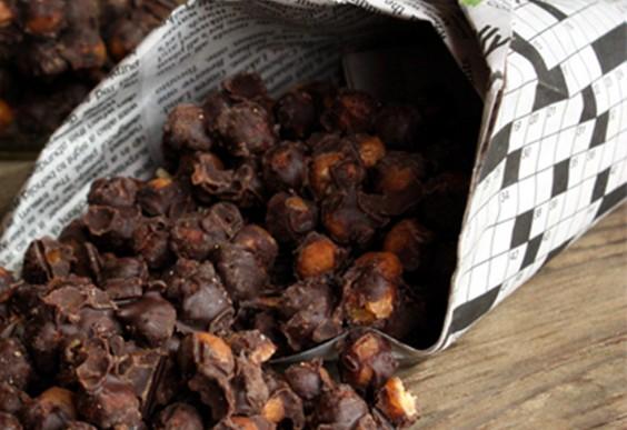 Healthier Halloween Candy: Malted Milk Balls