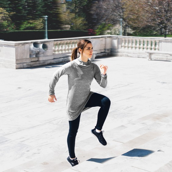 Women's Workout Clothes: Veil Garments' More Modest Line