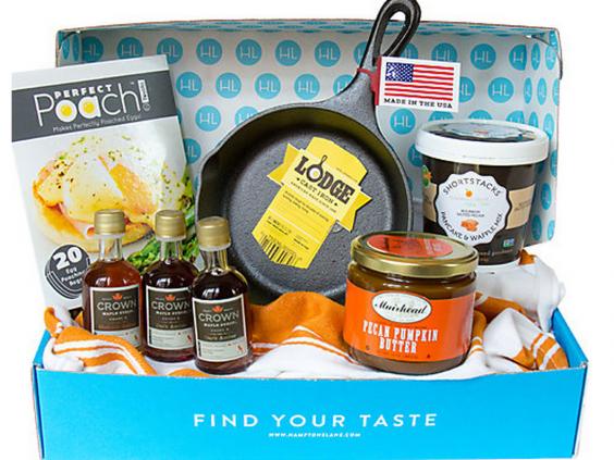 Subscription Box Healthy Snacks: Hamptons Lane