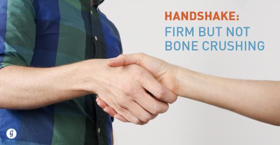 8 Body Language Hacks: Handshake