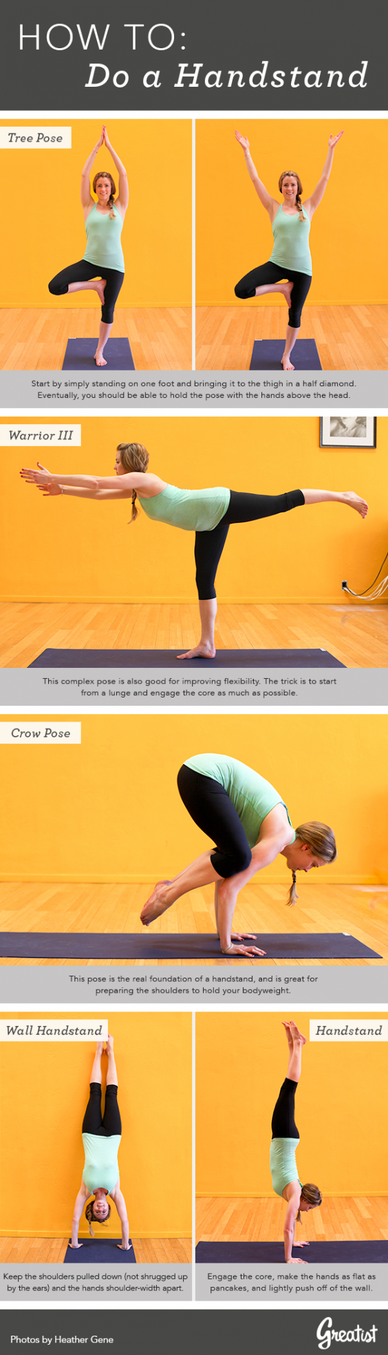 The Foolproof Plan to Nail a Handstand