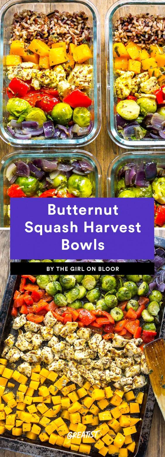 Butternut Squash Harvest Bowls