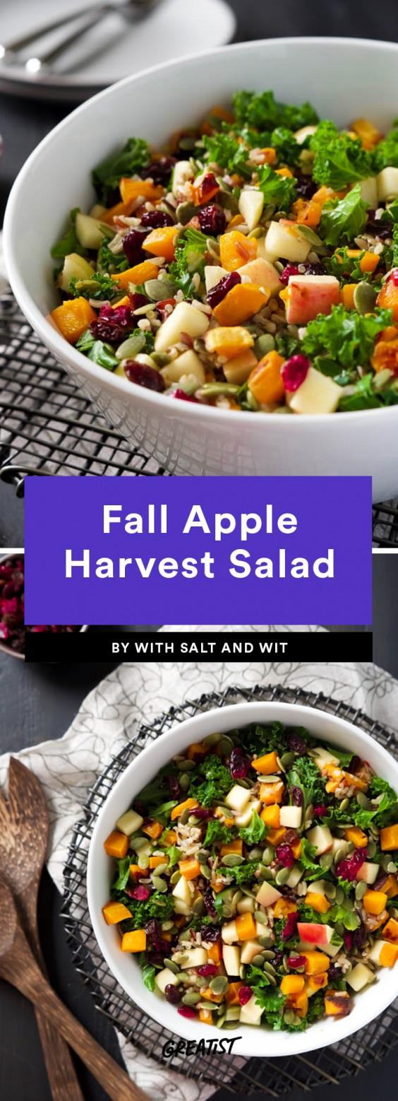 Fall Apple Harvest Salad