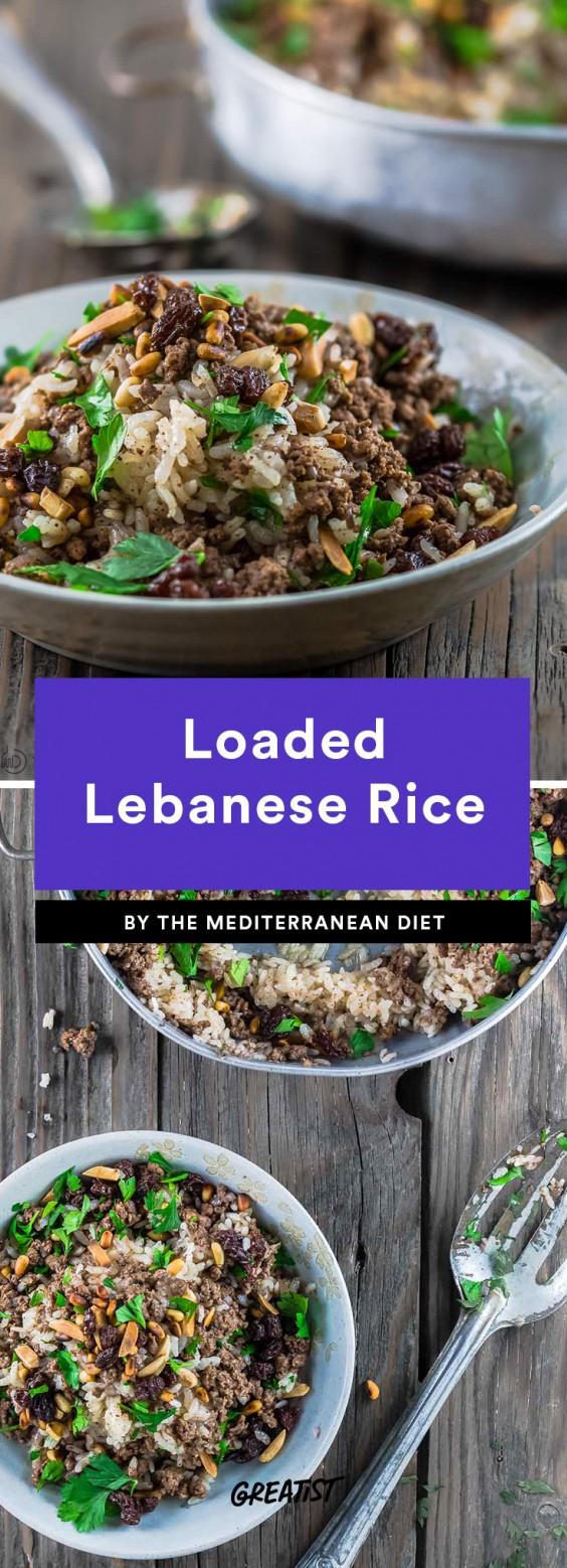 Loaded Lebanese Rice