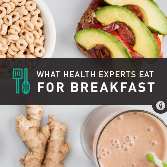 What Top Health Experts Eat for Breakfast