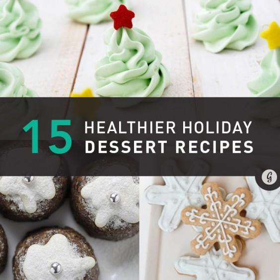 15 Healthier Holiday Dessert Recipes