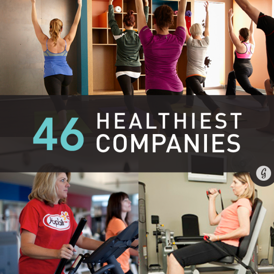 The Healthiest Companies to Work For in 2013