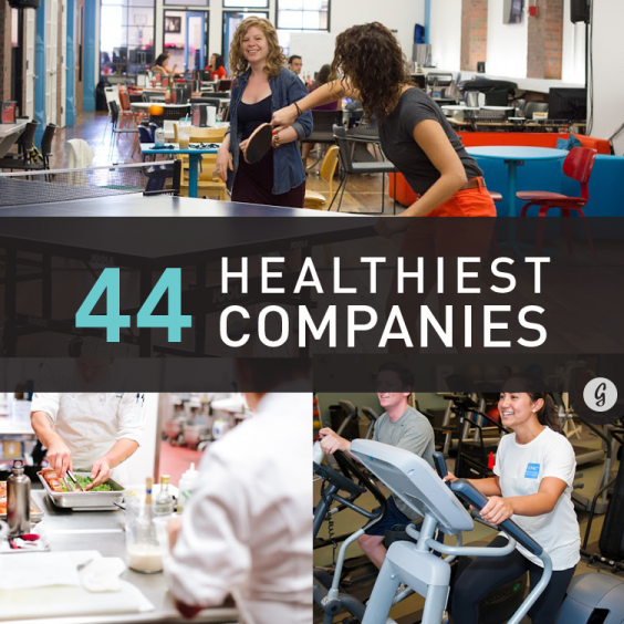 Healthiest Companies to Work For in America 2014