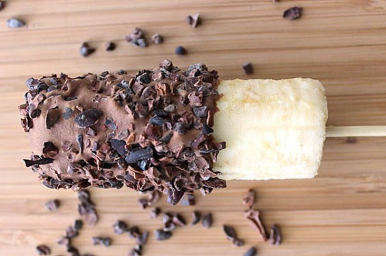 Healthy Chocolate-Covered Banana
