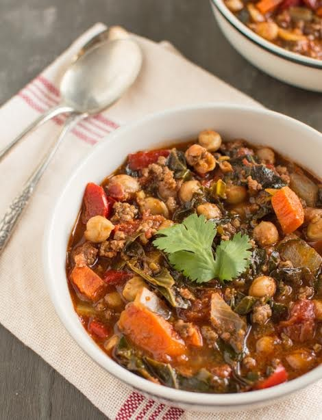 13. Moroccan Beef Chili