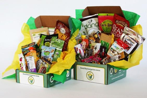 Subscription Box Healthy Snacks: Healthy Surprise