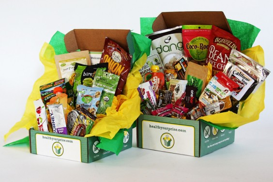 Subscription Box Healthy Snacks: Healthy Surprise
