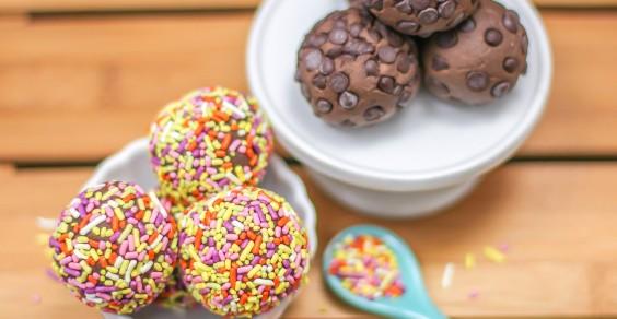Healthy Chocolate Fudge Truffles