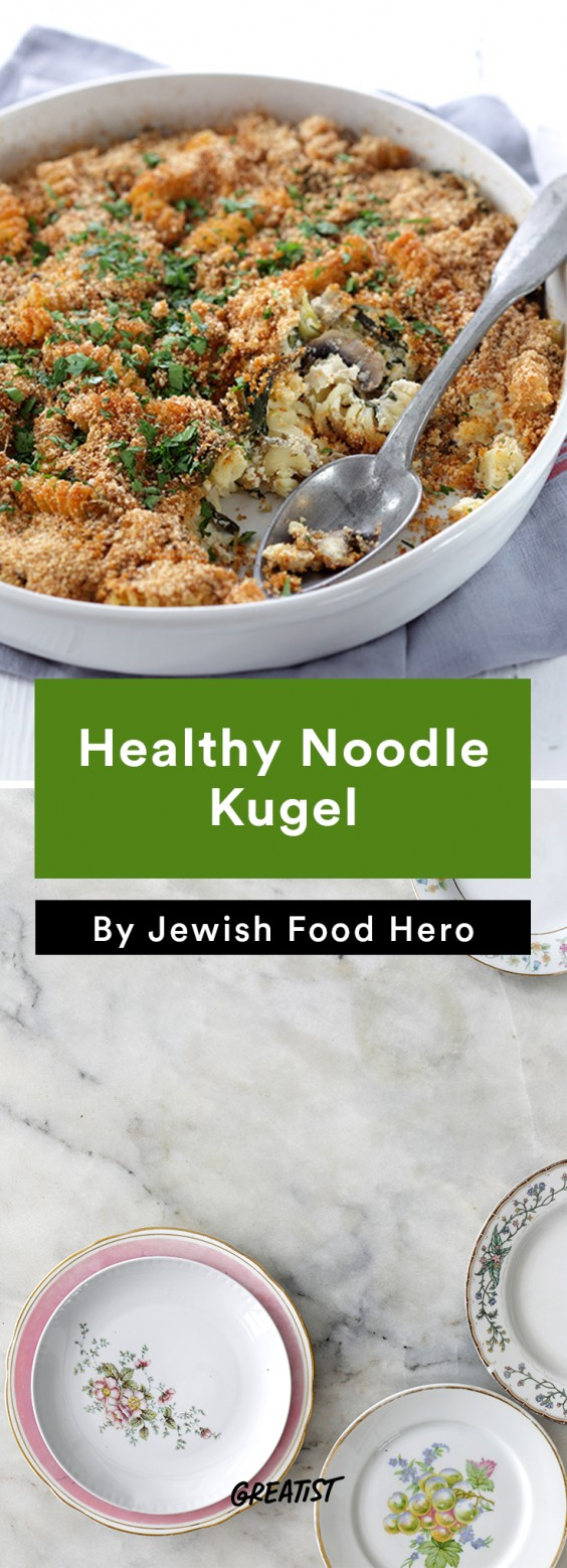 jewish food hero: Healthy Noodle Kugel