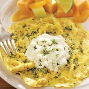 18. Herb Onion Frittata