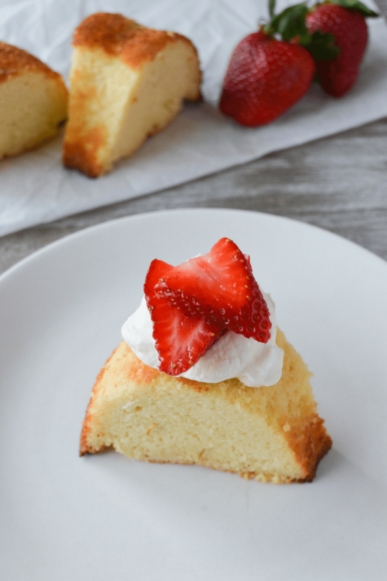 Pound Cake With Both Cream Cheese And Sour Cream