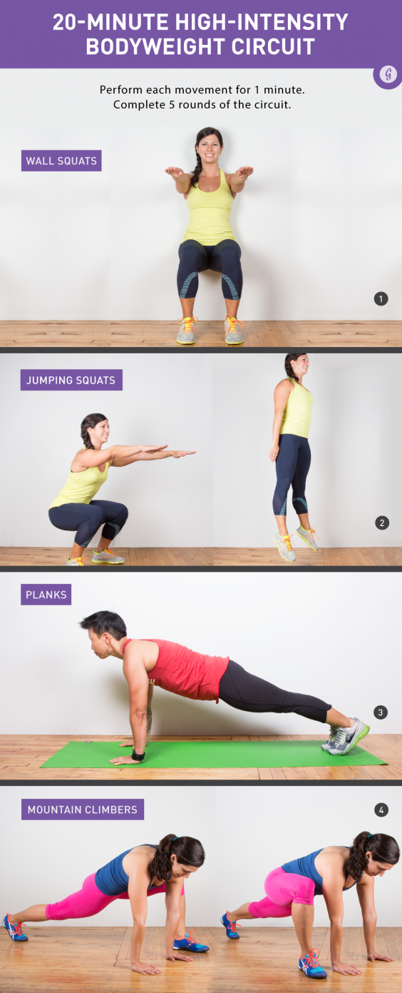 High-Intensity Core workout_HIIT Bodyweight Workout