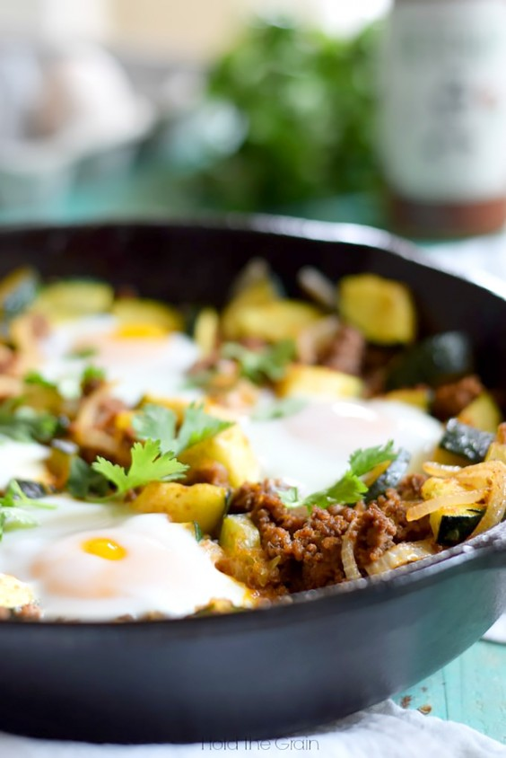 Paleo Dinners: Zucchini Beef Skillet